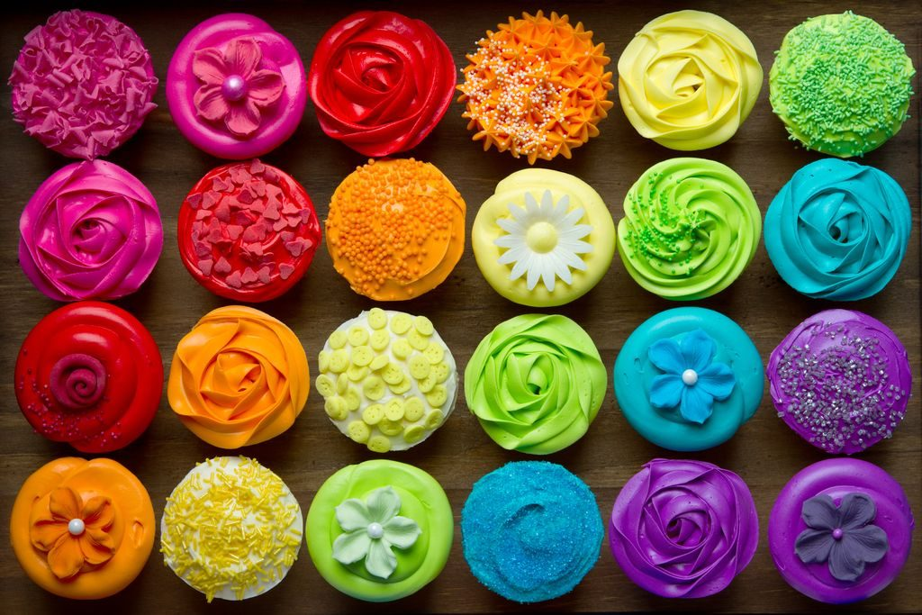 Food coloring in recipes