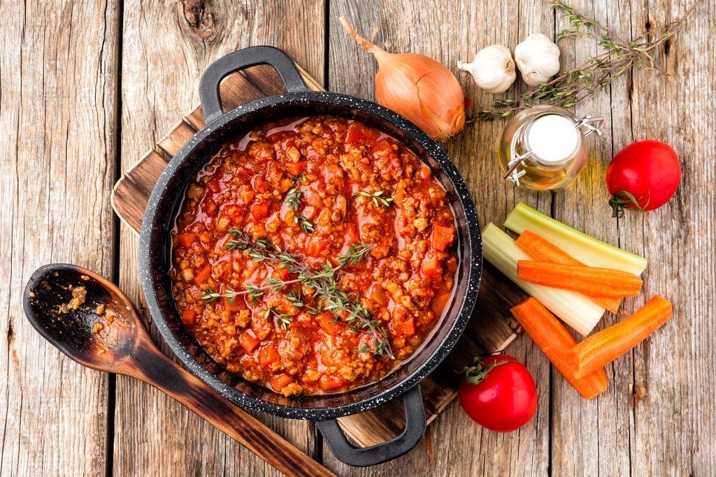 bolognese sauce or ragù