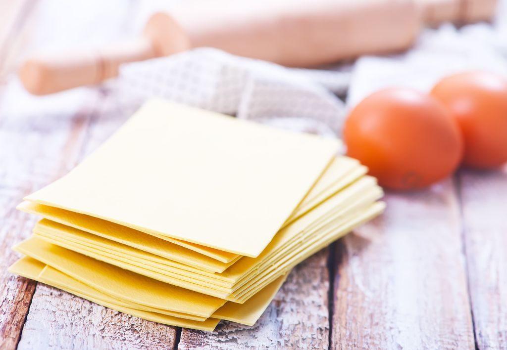 lasagne sheet, pasta