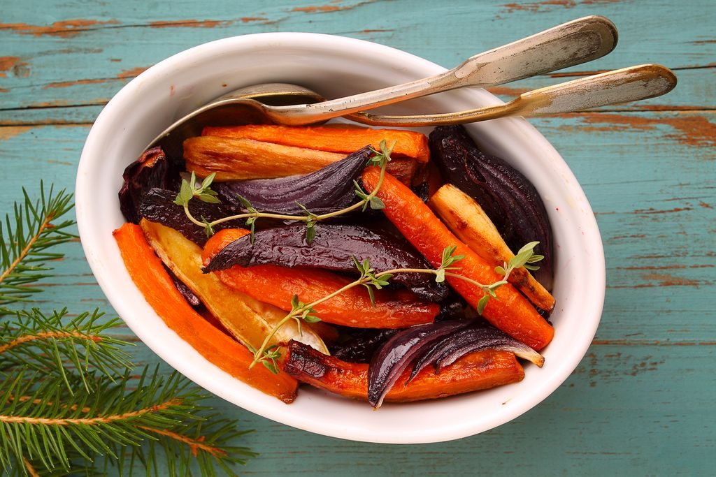 Caramelised Carrots and Onions