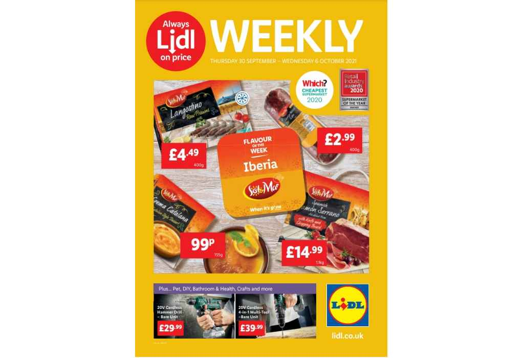 Lidl Offers This Week: 30 September - 6 October